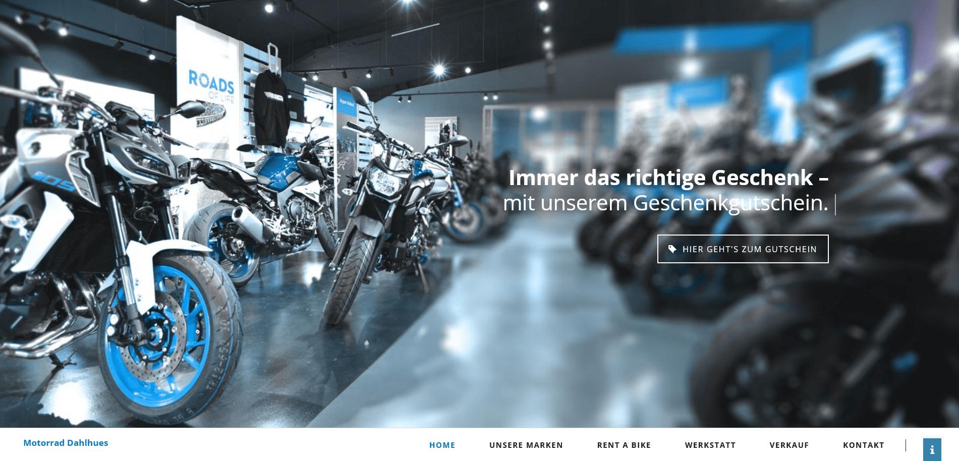 Motorrad Dahlhuis